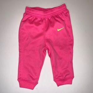 Nike Baby girl Pink Sweatpants